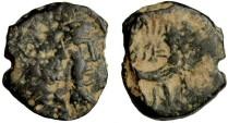 Ancient Coins - Nabatean Kingdom Aretas IV, 9 BC - 40 AD, AE16
