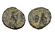 Ancient Coins - Justinian I AE Pentanummium, 527 - 565 AD, Antioch Mint