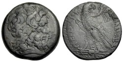 Ancient Coins - Ptolemy IV Philopator, 221 - 205 BC, AE38