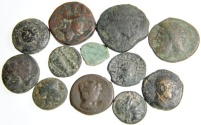 Ancient Coins - Lot of 14 Better Greek Bronzes