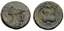 Ancient Coins - Side, Pamphylia, 1st C BC, AE16