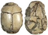 Ancient Coins - Egyptian Scarab of Pamai, 8th Pharaoh of the 22nd Dynasty, c. 960 - 766 BC