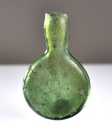Ancient Coins - Glass Pilgram Flask,  Roman-Islamic, 2nd – 9th C CE