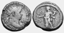 Ancient Coins - Egypt, Alexandria. Hadrian Billon Tetradrachm. 117-138 AD