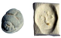 Ancient Coins -  Scarab for Necklace