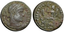 "Constantine the Great ""Dafne"", 328-329 AD, AE3"
