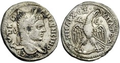 Ancient Coins - Antioch: Caracalla, 198-217 AD, Billon Tetradrachm