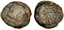 Ancient Coins - Pantikapaion, Thrace AE18, c 275 C BC