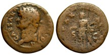 Domitian as Caesar, 81-96 AD, AE As