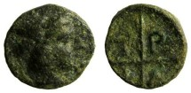 Ancient Coins - Macedon, Tragilus AE9, 400 - 357 BC
