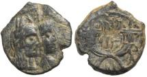 Ancient Coins - King Aretas IV AE17, 9BC - 4AD, Arabia Petra