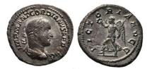 Ancient Coins - GORDIAN II, Africanus, 238 AD. Silver Denarius. Victory. Very Rare. Superb!