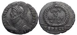 Ancient Coins - JULIAN II Philosopher( Apostate) Emperor 361-3 AD HERACLEA. Bronze  SUPERB.