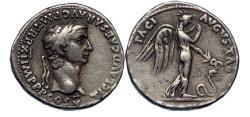 Ancient Coins - CLAUDIUS 44AD Rome Silver Denarius Coin PAX