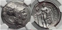 Ancient Coins - HERACLEA Herakleia in Lucania 330 BC - NGC AU