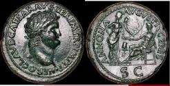 Ancient Coins - NERO 65 AD Sestertius ex SIR ARTHUR EVANS Collection