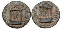 Ancient Coins - Agrippa II, Caesarea, 63AD Claudia, the Infant daughter of Nero & Poppaea Sabina