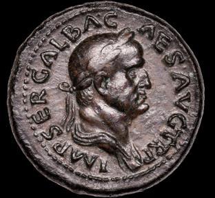 Ancient Coins - Galba A.D.68-9 Sestertius. Pedigre Ex Baldwin 1937