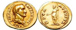 Ancient Coins - GALBA 69AD  Gold Aureus EXTREMELY RARE & Pedigreed 1930's NGC Choice VF