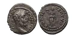 Ancient Coins - PESCENNIUS NIGER, Antioch, 193 AD. Bonus Eventus.  Very Rare