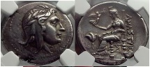 Ancient Coins - Paphlagonia, Amastris, 285/50 B.C Silver Stater. Mithra / Aphrodite. Fantastic! NGC ChXF* 5/5,5/5 Fine Style Ex G. Burel 1913