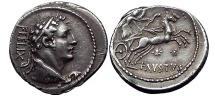 Ancient Coins - Faustus Cornelius SULLA 56 BC ex Haeberlin Collection
