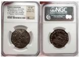 Ancient Coins - MITHRADATES VI, 87 BC. Silver Tetradrachm. NGC Choice XF 4/5-3/5.