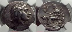 Ancient Coins - Paphlagonia, Amastris, 285/50 B.C Silver Stater. Mithra / Aphrodite. Fantastic! NGC ChXF* 5/5,5/5 Fine Style Ex G. Burel 1913