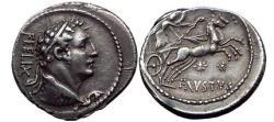 Ancient Coins - Faustus Cornelius SULLA 56 BC ex Haeberlin Collection