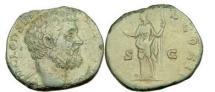 Ancient Coins - CLODIUS ALBINUS, Caesar, Rome,194 A.D.Brass Sestertius.Portrait/Felicitas. Superb.