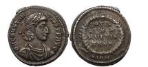Ancient Coins - CONSTANTIUS II, Silver Siliqua, Constantinopolis, 353 AD.