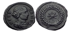 Ancient Coins - Saint HELENA Constantine the Great Mother RARE Star