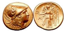 Ancient Coins - ALEXANDER III the GREAT Lifetime 325 BC  Gold Stater Coin