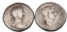 Ancient Coins - Hadrian,117 A.D.Cilicia, Aigeai,.Silver Tridrachm:Alexander the Great. Very Rare