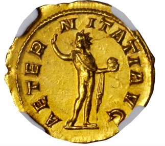 Ancient Coins - GORDIAN III Mint State 241AD Authentic Ancient Roman Gold  Eternity SUPERB