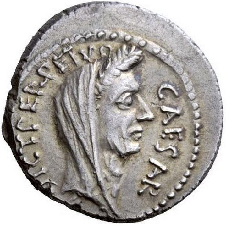 Julius caesar ppullius macer rome 44 bc silver denarius venus ancient coins julius caesar ppullius macer rome 44 bc freerunsca Images