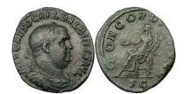 Ancient Coins - Eperor - Orator and Poet - BALBINUS , 238 A.D., Rome. Bronze Sestertius. RARE.