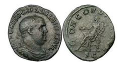 Ancient Coins - Eperor - Orator and Poet - BALBINUS , 238 A.D., Rome. Bronze Sestertius. RARE.