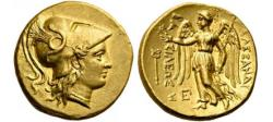 Ancient Coins - ALEXANDER III the GREAT of Macedonia 323BC  Gold Stater