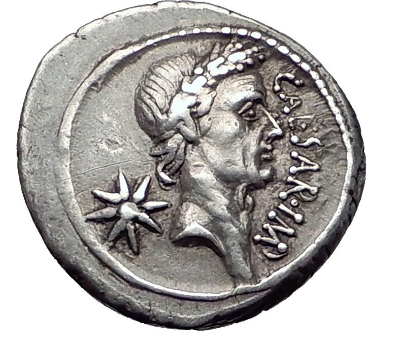 Julius caesar 44 bc rome denarius authentic ancient silver roman ancient coins julius caesar 44 bc rome denarius authentic ancient silver roman coin ngc ch freerunsca Images
