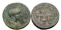 Ancient Coins - NEOCAESAREA in Pontos, Under Gordian III, 239 A.D. , Bronze. Amphora Below Table.