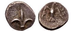 Ancient Coins - Judaea Yehud (Judah) LILY Symbol of JERUSALEM Rare