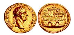 Ancient Coins - CLAUDIUS 41 AD Rome GOLD Aureus Authentic Ancient Roman Coin PEDIGREE to 1894
