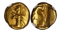 Ancient Coins - King Xerxes II to Artaxerxes II Achaemenid Gold Daric