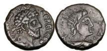 Ancient Coins - COMMODUS , 190 A.D., Alexandria.Egypt .Billon Tetradrachm. Sun-God HELIOS. Rare.