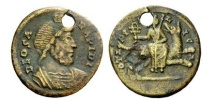 Ancient Coins - FESTIVAL OF ISIS 4thCenAD Serapis Isis Sothis Orion ANCIENT ROMAN Gnostic Coin