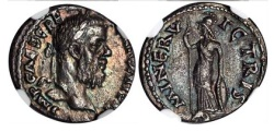 Ancient Coins - PESCENNIUS NIGER, A.D. 193-194. Silver Denarius NGC Certified  XF, 4/5 ; 3/5. Extremely Rare