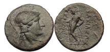 Ancient Coins - SELEUCUS II - KALLINIKOS, 246-226 B.C. Western Mint, Bronze, Athena. Apollo.