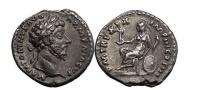 Ancient Coins - MARCUS AURELIUS, Rome, 165 AD. Silver Denarius. ARMENICUS. Roma. SUPERB