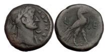 Ancient Coins - HADRIAN, Egypt: Alexandria, Year 5=120 AD. Tetradrachm. Eagle.